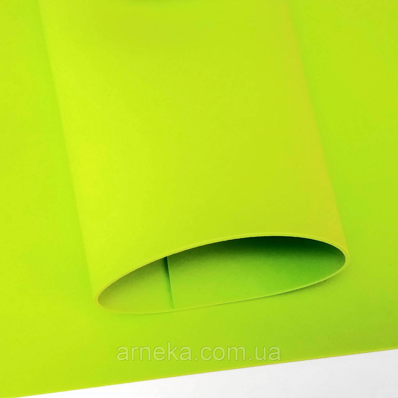 Фоамиран 20*30, товщина 2 мм (жовто-салатовий)