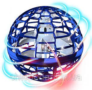 Магический летаючий шар бумеранг Galaxy Boomerang FlyNova Pro синий Код 10-0016