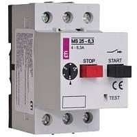 Автоматический выключатель (Автомат) защиты двигателя MS 25-0,16, ETI, 4600010