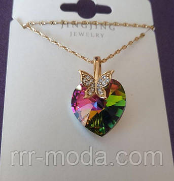 Кулон сердце - кулоны сваровски, ювелирная бижутерия оптом. Кулоны Xuping Jewelry 471