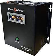 ИБП Logicpower LPY-W-PSW-500+ (350Вт), для котла, чистая синусоида, внешняя АКБ