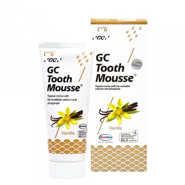 TOOTH MOUSSE Vanilla гель-крем для зубів, 35мл