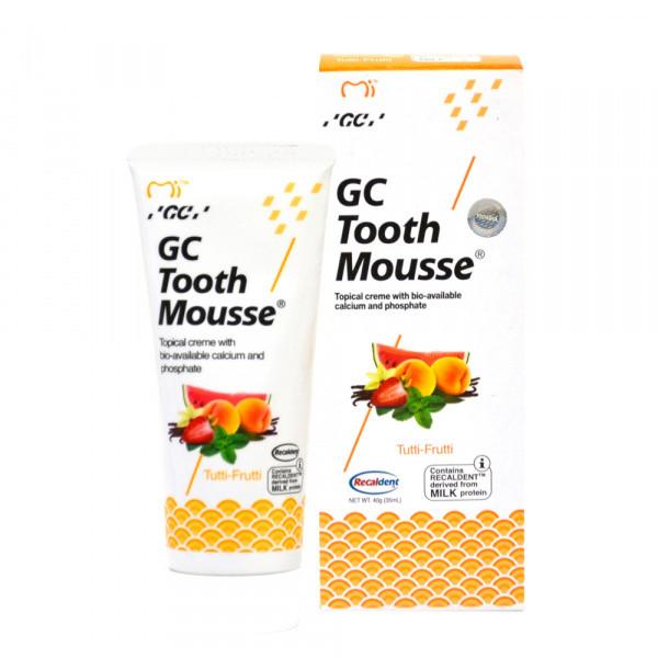 TOOTH MOUSSE Tutti-Frutti гель-крем для зубов, 35мл
