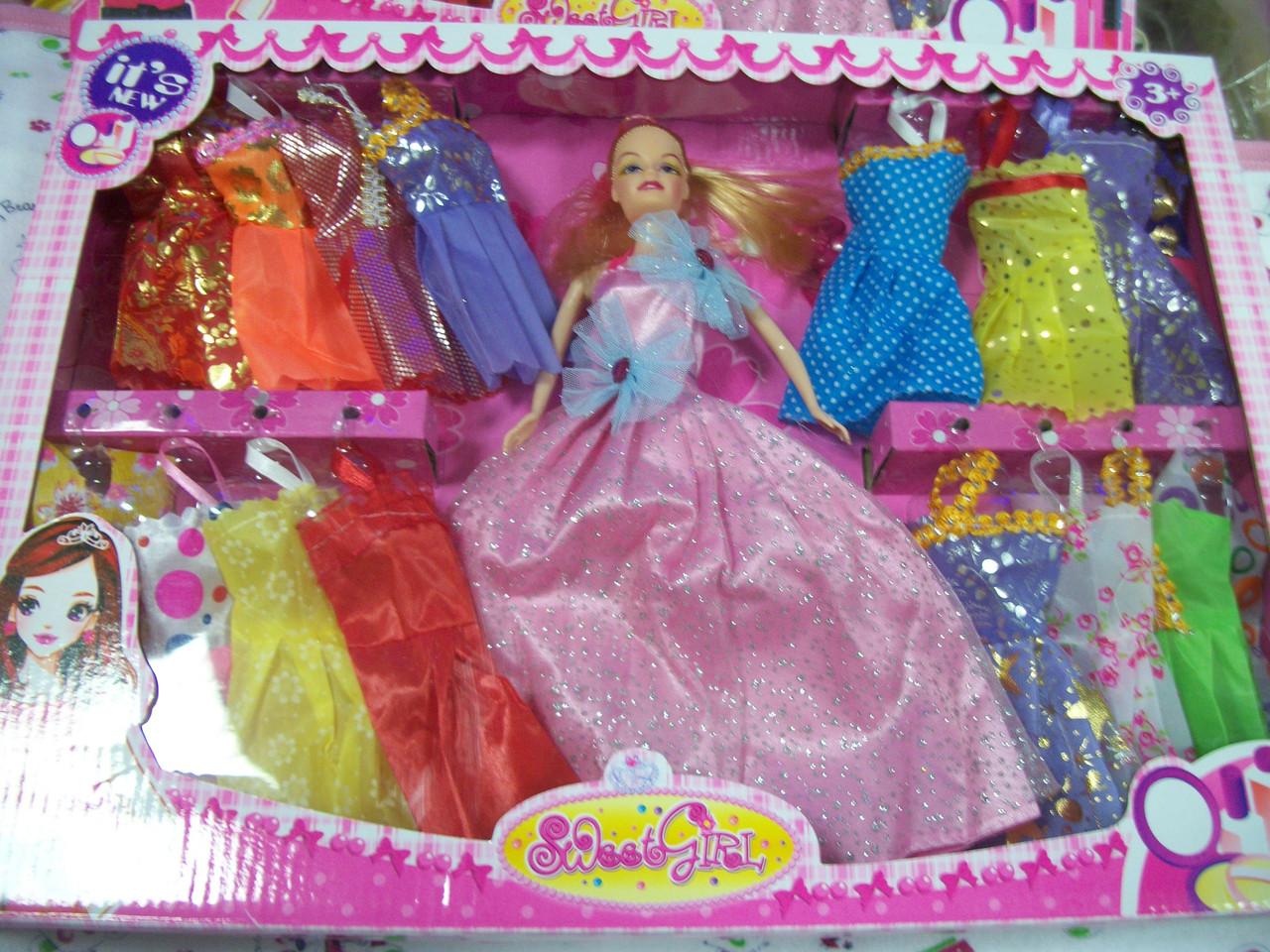 "Кукла типа ""Барби"" с одеждой, аксессуарами, 171, фото 1"