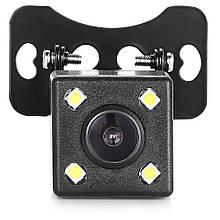 Камера заднего вида Спартак 707 LED Черный 008425, КОД: 949886