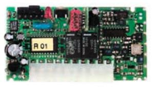 Вбудовуваний приймач FLOXI2R з частотою 433,92 МГц і динамічним кодом з типом кодування FLOR. Для блоків