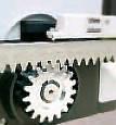 Mini комплект Roger Technology H30/640 для відкатних воріт масою до 600 кг з механічними кінцевими, фото 7