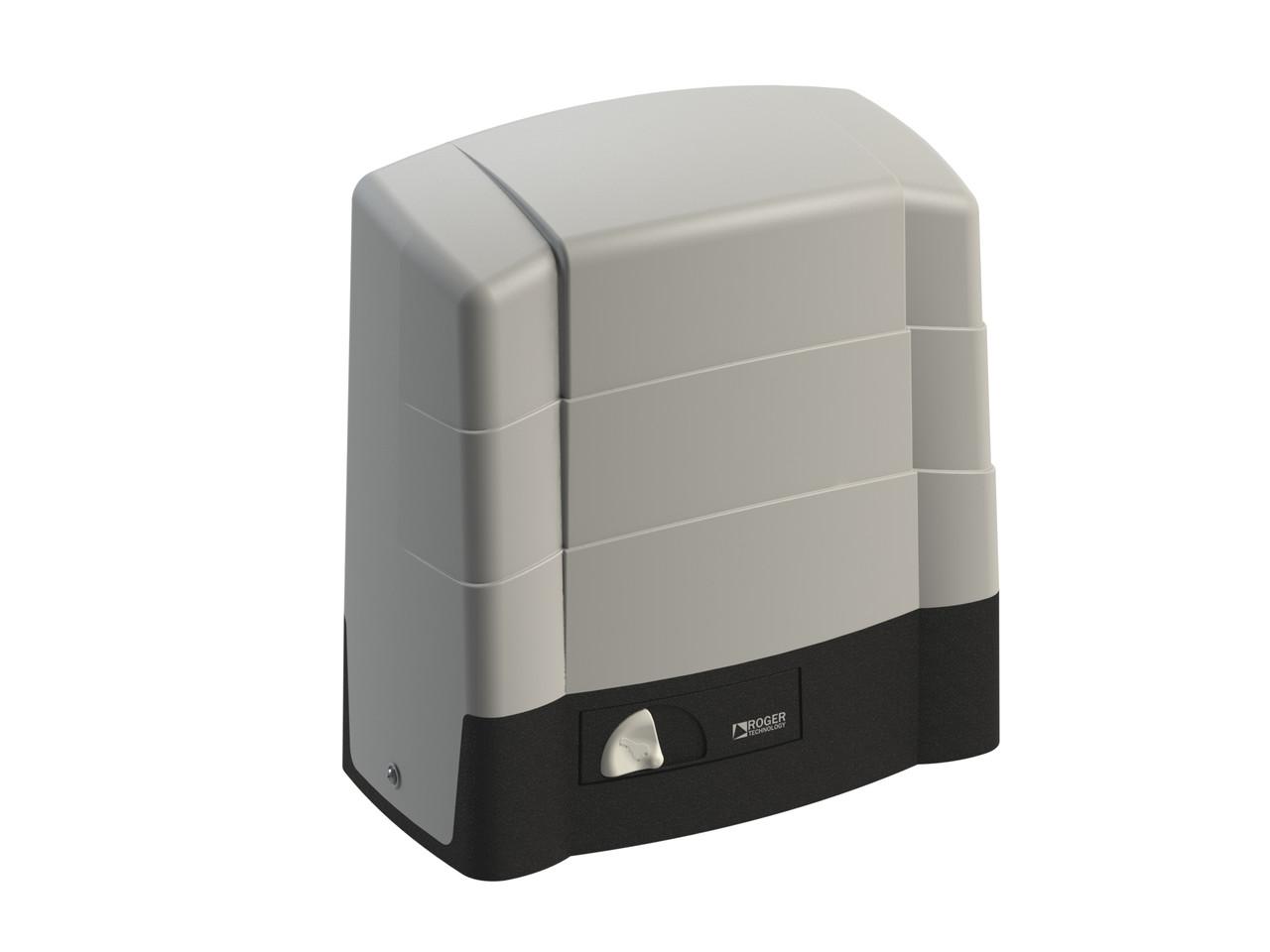 Електромеханічний привід Roger Technology G30/1804 з самогальмуючими редукторами для відкатних воріт вагою до