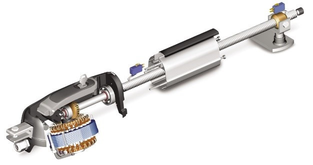 Автоматика для распашных ворот Roger Technology KIT R20/320 mini комплект
