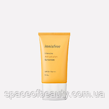 Крем солнцезащитный Innisfree Intensive Anti Pollution Sunscreen SPF50+ PA++++ 50 ml
