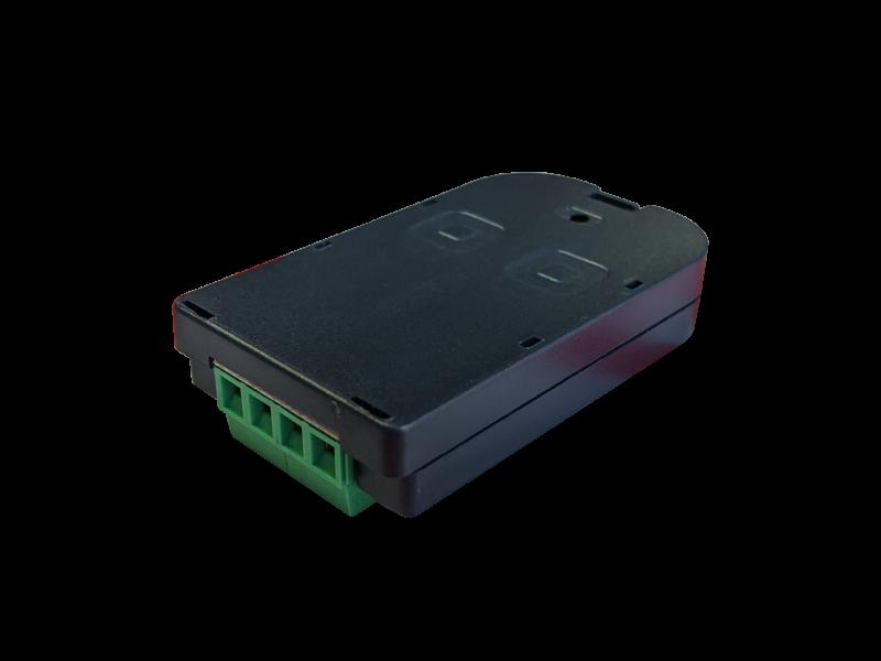 Двоканальний пульт BFT MIME TX з клемах для зовнішніх пристроїв