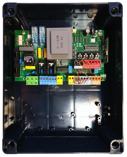 Панель управления BFT ALENA SW2 c DIP-переключателями и 2-х кан приемником (до 63 пультов)