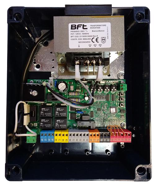 Панель управління ZARA BTL2 24V з DIP-перемикачами і 2-х кан приймачем (до 63 пультів)