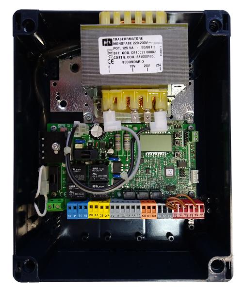 Панель управління BFT THALIA з дисплеєм 24 В для розпашних воріт.