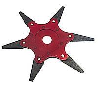 Диск посилений сігментний з 6 лезами для тріммера сталь 65g