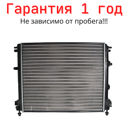 SATO Радиатор RENAULT Logan I 04-, Sandero I 08-, фото 2