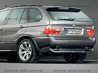 Накладка заднего бампера на BMW X5 E53