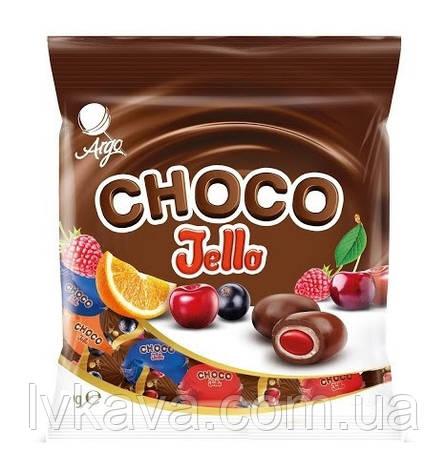 Карамель фруктова в шоколаді Choco Jello Argo , 120 гр, фото 2
