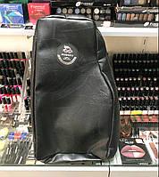 Сумка парикмахерская Barber shop для мастеров черная на змейке SRB Сумка парикмахера барбер