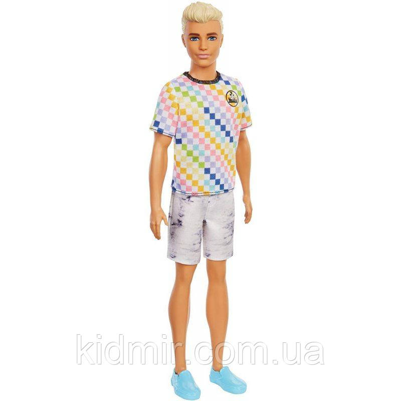 Кукла Барби Кен Игра с модой 174 Barbie Fashionistas Ken GRB90