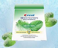 Отбеливающие полоски для зубов Crest 3D Whitestrips Arctic Mint, Dental Whitening Kit + 1 Tube 28шт (14 пар)
