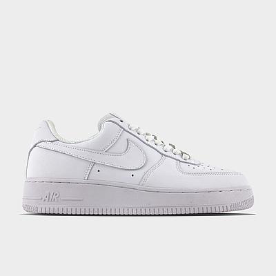 Мужские кроссовки Nike Air Force 1 Full White Белого цвета Низкие кеды Повседневные Найк Аир Форс 1
