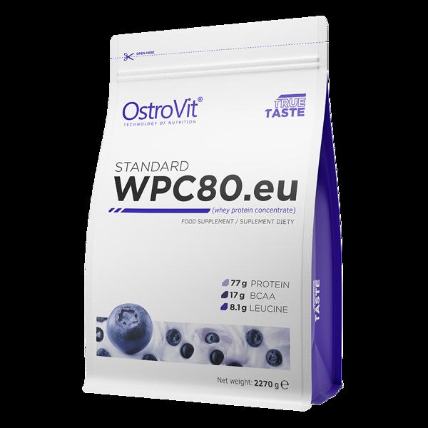 Протеїн Standard WPC80.eu OstroVit 2.27 кг Чорниця