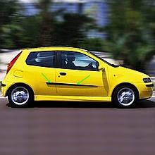 Молдинги на двері для Fiat Punto II 3Dr 1999-2010