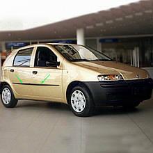 Молдинги на двері для Fiat Punto II 5Dr 1999-2010