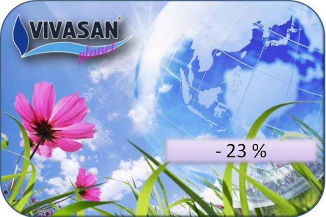 Дисконтная карта Vivasan-planet -23%