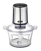 Измельчитель (чоппер) электрический VOX MC9005 1 л 300 Вт Стеклянная чаша Нержавеющая сталь / Прозрачный