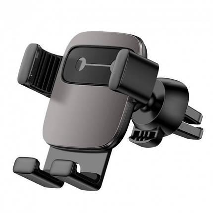 Автотримач для телефону Holder Baseus Cube Gravity Black, фото 2
