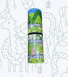 Коврик детский «Парковый город», т. 11 мм, хим сшитый пенополиэтилен, 120х120 см. Украина, TERMOIZOL®, фото 3