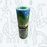 Коврик детский «Парковый город», т. 11 мм, хим сшитый пенополиэтилен, 120х120 см. Украина, TERMOIZOL®, фото 2