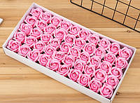 Мыльная роза, роза из мыла, розы для букетов из мыльных роз
