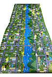 Коврик детский «Парковый город», т. 8 мм, хим сшитый пенополиэтилен, 120х250 см. Украина, TERMOIZOL®, фото 7