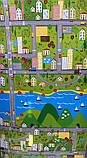 Килимок дитячий «Паркове місто», т. 11 мм, хім зшитий пінополіетилен, 120х250 див. Україна, TERMOIZOL®, фото 5