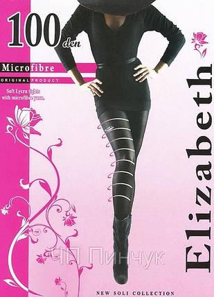 Колготки Elizabeth 100 den microfibre Nero р.5 (00124) | 5 шт., фото 2