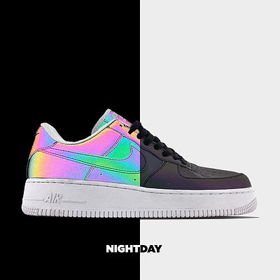Мужские кроссовки Nike Air Force 1 Low Reflective рефлективные Низкие кеды Повседневные Найк Аир Форс 1