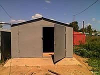 Производство гаражей из металла