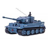 Радиоуправляемая игрушка Great Wall Toys Танк микро р/у 1:72 Tiger со звуком (серый) (GWT2117-4)