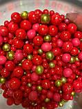 """Мікс """"Яскраво-Рожевий з золотом"""", фото 2"""