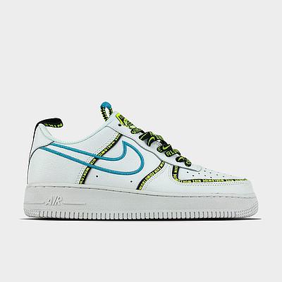 Мужские кроссовки Nike Air Force 1 Low Worldwide White белого цвета Низкие кеды Повседневные Найк Аир Форс 1