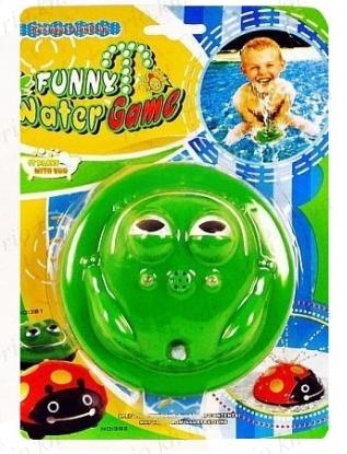 Игрушка для ванной Fanny Water Game фонтан Лягушка