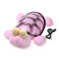 Черепаха проектор-светильник звездное небо, музыкальная / Snail Twilight musical, фото 1