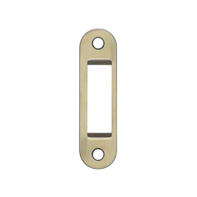 AGB Art. B014029612 Ответная планка Polaris Easy-Fix 1,2мм античная латунь (45826)