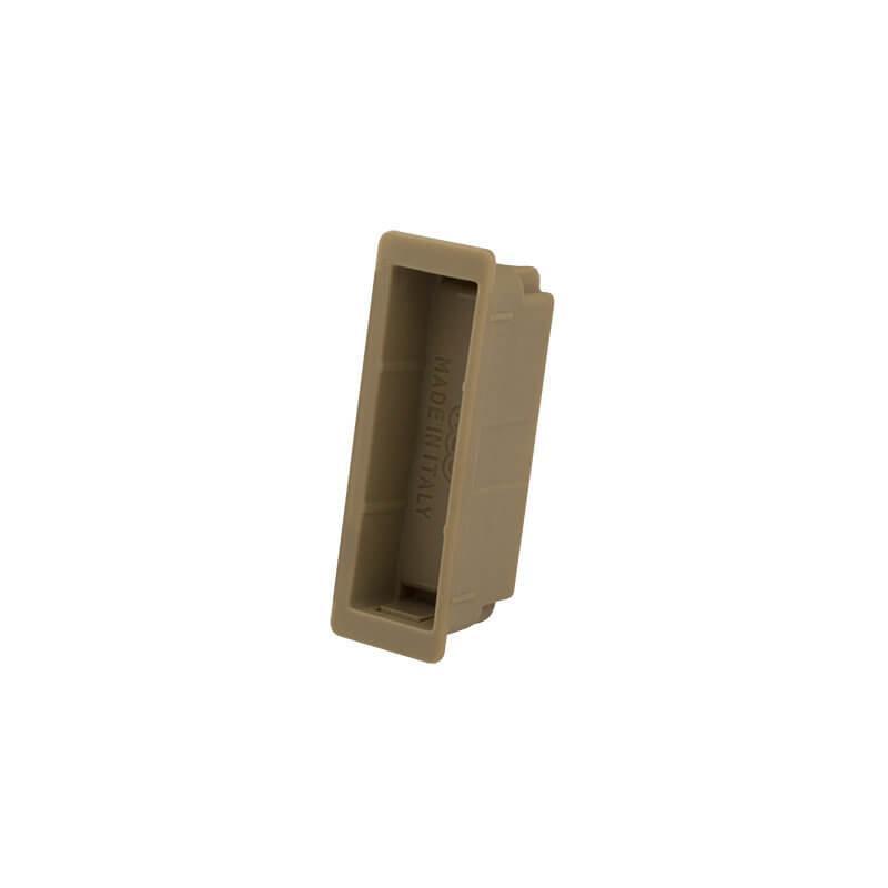 AGB Art. B024029414 Магнитная вставка под ответную планку Polaris Easy-Fix бронза (45828)
