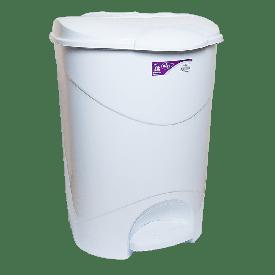 Ведро для мусора с педалью Irak Plastik Bella №3 30л белое