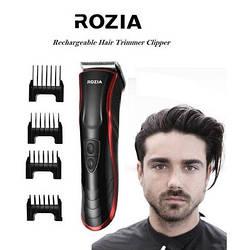 Профессиональная машинка для стрижки волос Rozia HQ-222 Триммер4 режима(3, 6, 9, 12 мм)Время работы8часов