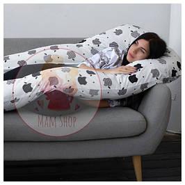 Подушки для вагітних, У-образна подушка, подушка обнімашка